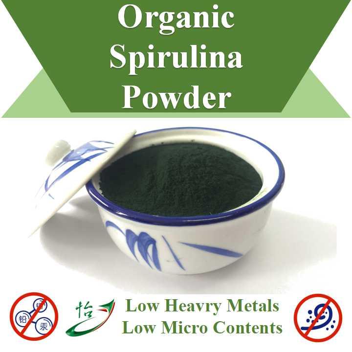 Low Heavy Metals Micro Contents Organic Spirulina Powder