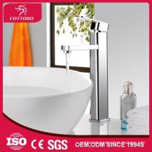 long spout faucet high end square mixer brass taps