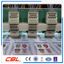 9 colors high speed flat commercial embroidery machine