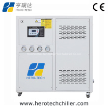 12HP Energy Saving Water Cooled Screw Compressor Low Temp Chiller