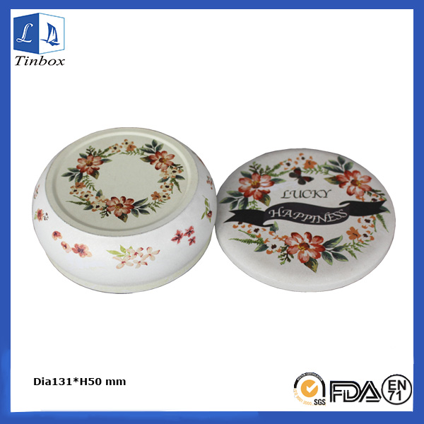 16 OZ Ronda Empty Candle Titulares Tin