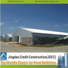Hochwertige vorgefertigte Stahlkonstruktion für Hühnerhaus