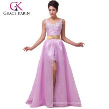 Grace Karin Removable Skirt Sleeveless Shining Beaded Prom Dress CL6038