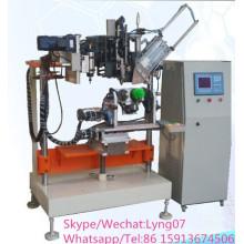 CNC-automatische Hochgeschwindigkeits-4-Achsen-Toilettenbürste Bohr- und Tufting-Maschine
