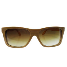 Hand Crafted Natural Bamboo Frame Sunglasses with Fashion Designer
