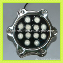 2015 new style IP68 12W pool led light color change led swimming pool light