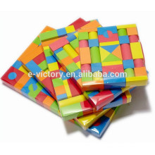 113 de blocos de espuma de EVA pcs engraçado espuma blocos de construção de blocos de brinquedo