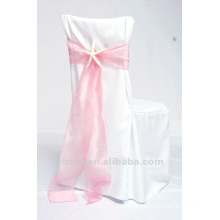 100%polyester chair covers,hotel/banquet/wedding chair covers.organza sash