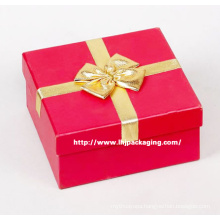 Custom Gift Packaging Paper Box with Ribbon Closure