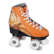 Soft Boot Quad Roller Skate para Adultos (QS-43-1)