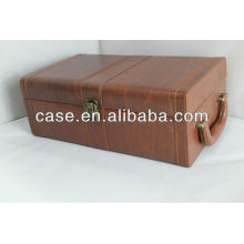 2013 new leather wine case