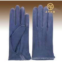 Nuevo estilo 3m señoras color púrpura thinsulate e pantalla táctil guantes