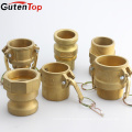 GutenTop High Quality factory supply brass female thread camlock quick coupling