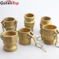 GutenTop высокого качества поставкы фабрики латунный с внутренней резьбой камлок быстроразъемные соединения
