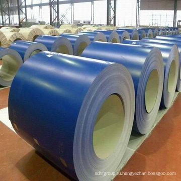 Использование предварительно окрашенных стальных катушек из оцинкованной стали для строительных материалов