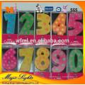 Großhandels-lustige Geburtstags-Zahl-Kerze von China