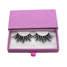 Pink Sliding Extensions Eyelash Beauty Box Empty