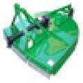 Série 9G / tondeuse à gazon / tondeuses rotatives, slasher rotatif