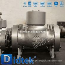 Válvula de retenção de vedação de pressão de alta qualidade Didtek com flange