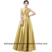 Women Elegant Evening Dresses V-Opening Back Prom Formal Party Dress