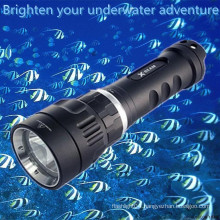 Portable Magnetic Switch Rechargeable Aluminum waterproof mini underwater fishing light