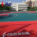 Fácil instalación PP Baloncesto Pisos deportivos modulares