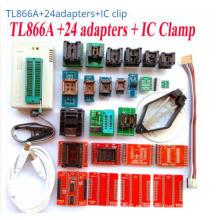 Minipro Super Tl866A/Tl866CS Eeprom programador 21PCS Set completo adaptadores zócalo