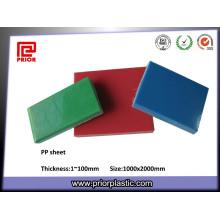 China Heißes verkaufendes wiederverwendbares pp. Plastikblatt