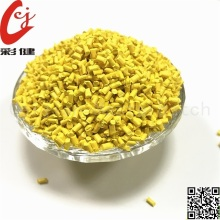 PVC Yellow Wire Masterbatch Granuler