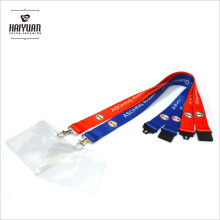 Günstige Custom ID Card Inhaber Sublimation Lanyard Kein MOQ