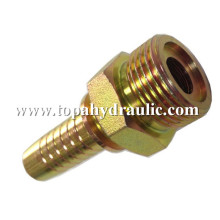 Hydraulic coupling faucet to hose adapter parker fittings
