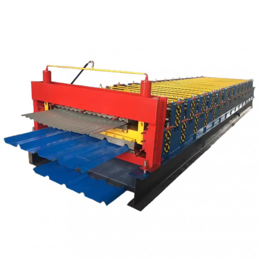 Corrugated And Trapezoidal Machine