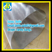 Professionelle Plain Steel Black Wire Mesh / Black Wire Tuch
