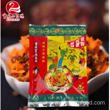 One of Hottest for China Spicy Hot Pot Seasoning,Secret Refining Hot Pot Seasoning,Chongqing Spicy Hot Pot  Seasoning Supplier Delicious spicy hot pot bottom material supply to Cook Islands Manufacturers