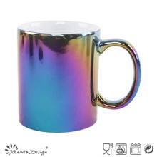 Taza de cerámica de 11oz con impresión en color