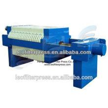 Leo Filter Press 630 Presse-filtre de chambre de petite capacité