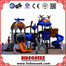 Équipement d'amusement extérieur de terrain de jeu d'enfants joyeux de ce