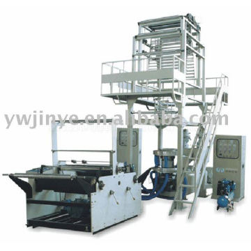 Two Layer Coextrusion Rotary-Die Head Fully Automatic Rewinding Film Blowing Machine Set