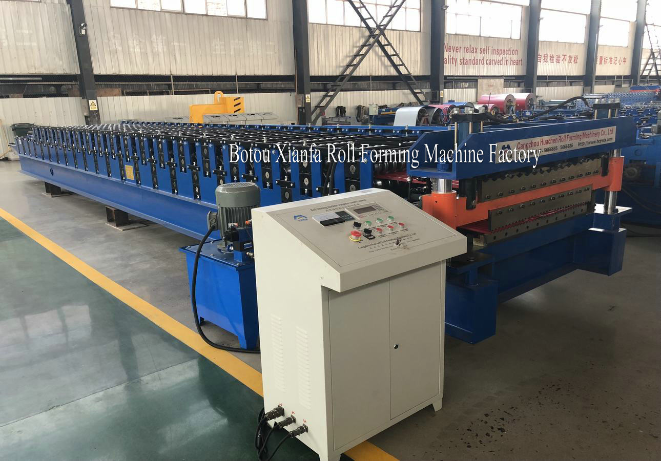 Double corrugated machine