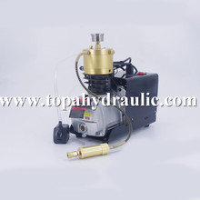 High pressure air compressor pump scuba