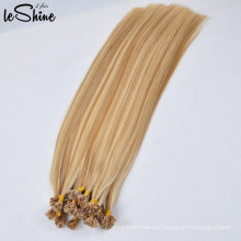 Venta al por mayor Remy Flat Tip Hair Extension Vendedores