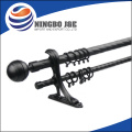 P-SL06 round spray-paint wrought iron curtain pole of S-Zone Lineshape series