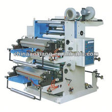 YT-2600 Two Colors Plastic film roll to roll canvas printing machine