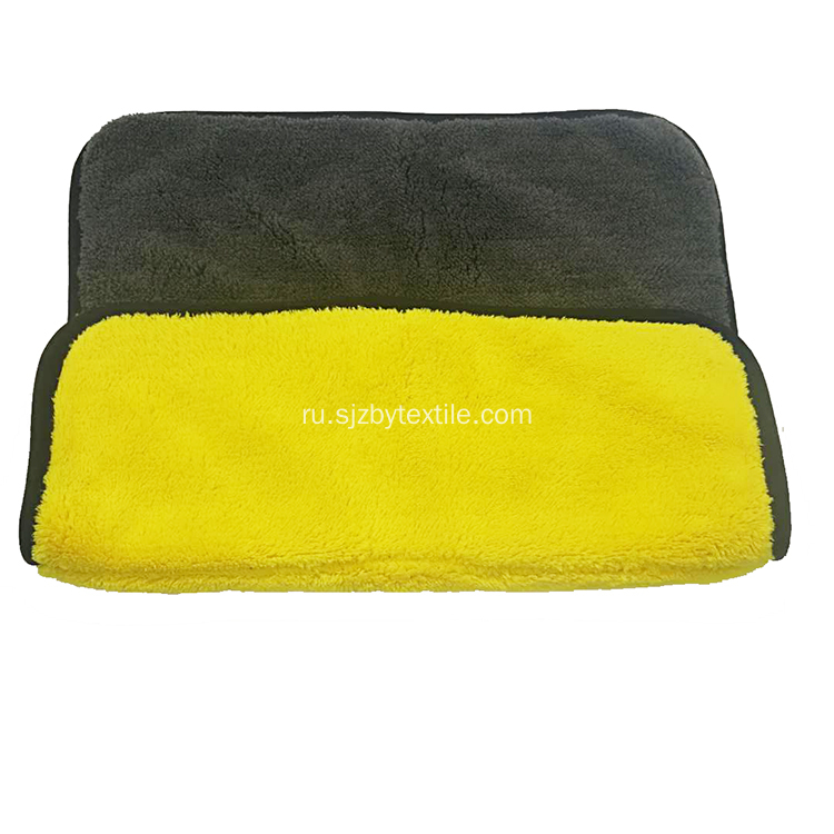 Logo Design Microfiber Bath Car Cleaning Cloth