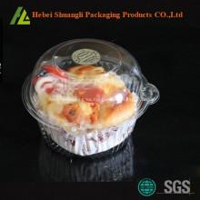 Cajas de Cupcake claras Cajas de Cupcake de plástico