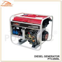 Powertec 4.2HPディーゼル発電機(PTC2500L)