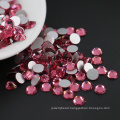 Best Selling Trendy Style Rose Color Flat Back Non Hot Fix Rhinestone for Decoration , MS131 Rose Color
