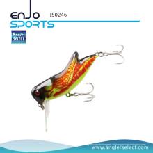 Angler Select Insekt Bass Fischen Lure Realistische Heuschrecke / Crickhopper Top Wasser Panfish Angelgerät Crankbait Lure (IS0246)