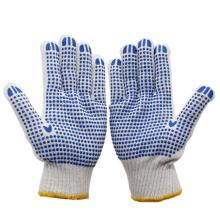 10 gauge nylon white  working cotton hand gloves