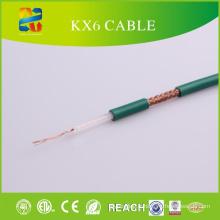 Câble coaxial du fabricant Kx6 de câble de Linan avec le certificat de la CE / ETL / RoHS